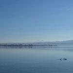 Abendstimmung am Zeller See.