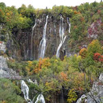Nationalpark Plidvice - im Hintergrund der Veliki Slap