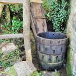 Rastoke - mit Wasserkraft betriebenes Waschfass