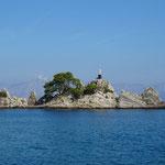 Hafeneinfassung in Trpanj