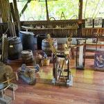 Rastoke - Ausstellungsraum mit traditionellen Gegenständen