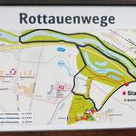 Wanderkarte Rottauenwege