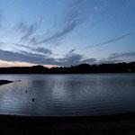 Lac de Pareloup - Abendstimmung
