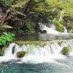 Nationalpark Plidvice - zahllose kleine und große Wasserfälle