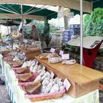 Markt in La Malene