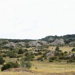 Landschaft bei Millau.