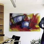 Kunde Bilfinger & Berger, Essen, Umsetzung, Platzierung im Besprechungsraum
