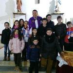 Procesión Viernes de Dolores, Parte de la Cofradía del Niño Jesús de Praga.  18/03/2016