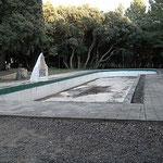 Antigua piscina.  Foto de Francis Quílez. Año 2004
