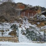 Vistas Cueva nevada. Foto de Loles Redondo. 27/02/2016