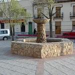 Fuente del Paseo. Paseo de la Constitución.  Año 2004. Foto de Francis Quílez