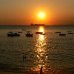 Sonnenuntergang von Porto da Barra