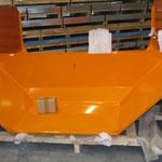 Kotflügel aus verzinktem Stahlblech, pulverbeschichtet