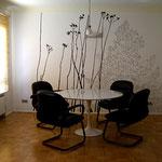WALDBLICK, Installationsansicht, Anwaltskanzlei Hummel, Korntal-Münchingen, 2008