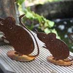 Kleine rostige Mäuschen