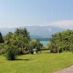Ausblick auf den Faaker See