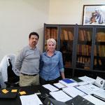Dr Nisar Ahmad Wani and Frà Dureuil Présidente de DromaCity