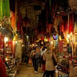 Souks de la vieille ville de Jérusalem