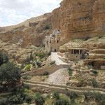 Randonnee dans Wadi Qelt