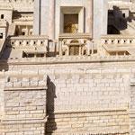 Maquette de Jérusalem- Musée d'Israël