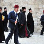 Procession vers le Saint Sépulcre