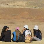 Trek dans le desert