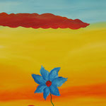 E' spuntato un fiore sotto un cielo che non promette niente di buono- primo periodo milanese