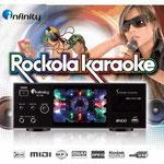 karaoke infinity, rockola karaoke infinity profesional