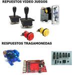 Suministros y partes para maquinas