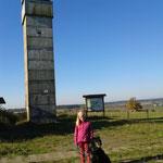 Im Hintergrund Frankenheim/Thüringen