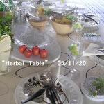 ワインイベントでのテーブルコーディネート