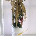 五穀豊穣を祈念した供花