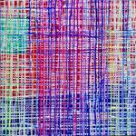 2017 abstraktes Bild 7 Mischtechnik auf Leinwand 100x100cm