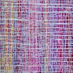 2017 abstraktes Bild 4 Mischtechnik auf Leinwand 124x90x4cm