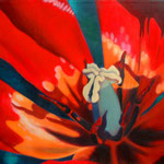 2001 Einblick VI Öl auf Leinwand 120x133,5x4cm