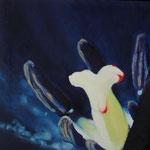 2001 Einblick oscuro II  Öl auf Leinwand  54,5x55,5cm