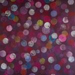 2021 bubbles...#3 Acryl auf Leinwand 124x90x3,6cm