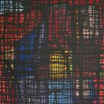 2017 abstraktes Bild 5 Mischtechnik auf Leinwand 124x90x4cm