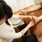 温活フットリフレクソロジー①足裏からお身体の状態を把握