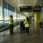 Kein Anstehen am Flughafen