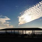 御蔵島ドルフィンスイム/秋の空
