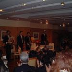 15周年はカナダ大使館にあったシティ-クラブ・オブ・東京にて開催。