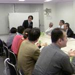 企業経営者の勉強会「ビジネスクラブ」にてセミナー。