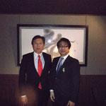 末松復興副大臣(当時)と日本の行く末を対談。