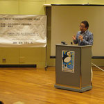 国立市「社会を明るくする運動」講演会にて