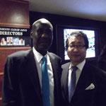 マリ共和国トゥーレ駐日特命全権大使と。