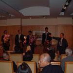 ウィーンフィル・メンバーによる弦楽四重奏を堪能。