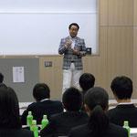 都内私立高等学校にて講演