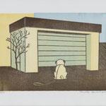 Neubert, Franziska , Leipzig. Holzschnitte. Auflage 50. Blatt 210 x 170 mm. Platte 150 x 210 mm. Ne Me Quitte Pas................. ( Jacques Brel ).001