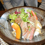 氷見牛丼ランチ(^_^)/